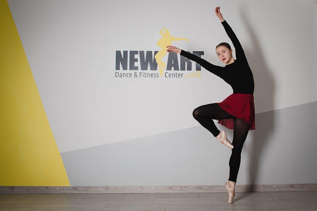 Боди балет в Киеве, уроки в студии New Art