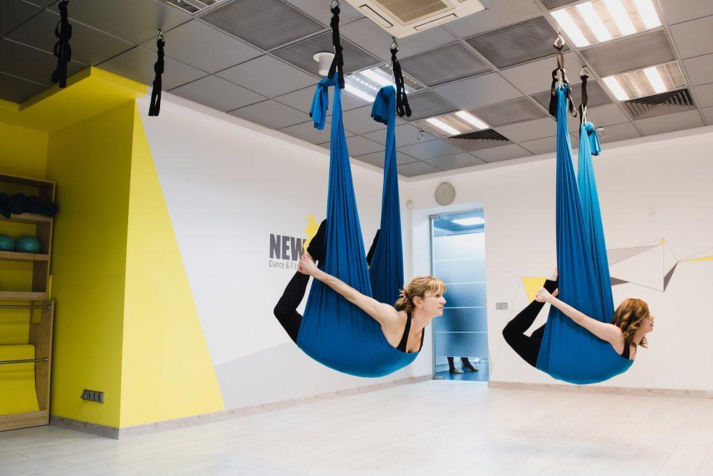 Флай йога в Киеве - Студия New Art