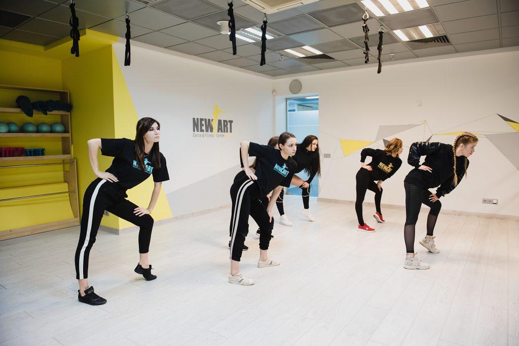 Уроки хореографии в Киеве - New Art