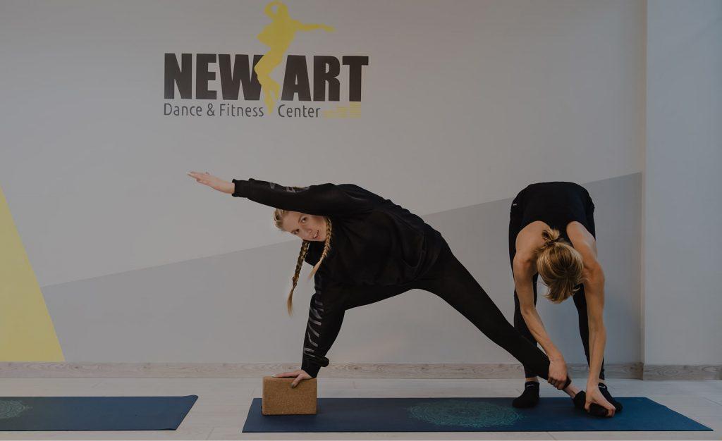 Индивидуальные занятия йогой в Киеве - New Art